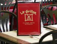 Les formules du Grillon